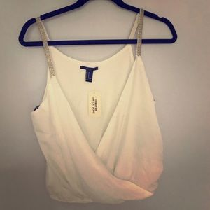 New with tags forever 21 white blouse